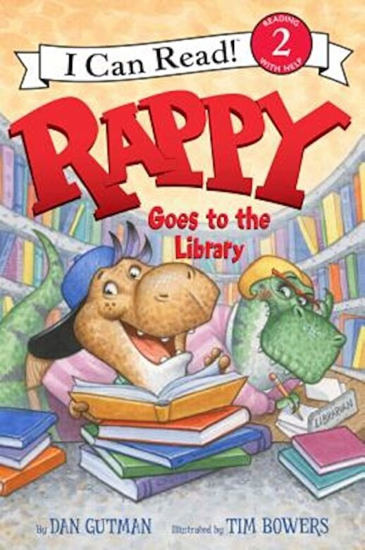 Dan Gutman - Rappy Goes to the Library, Hardcover -