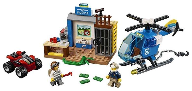LEGO - LEGO Juniors - City, Urmarire pe munte 10751 -
