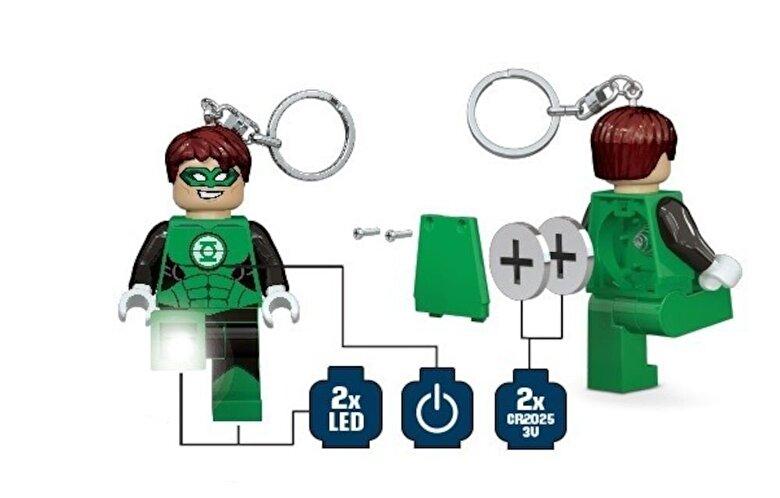 LEGO - LEGO Super Heroes, Breloc cu lanterna - Green Lantern -