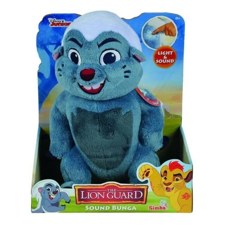 Simba - Plus Lion Guard Bunga - cu lumini si sunete, 35 cm -
