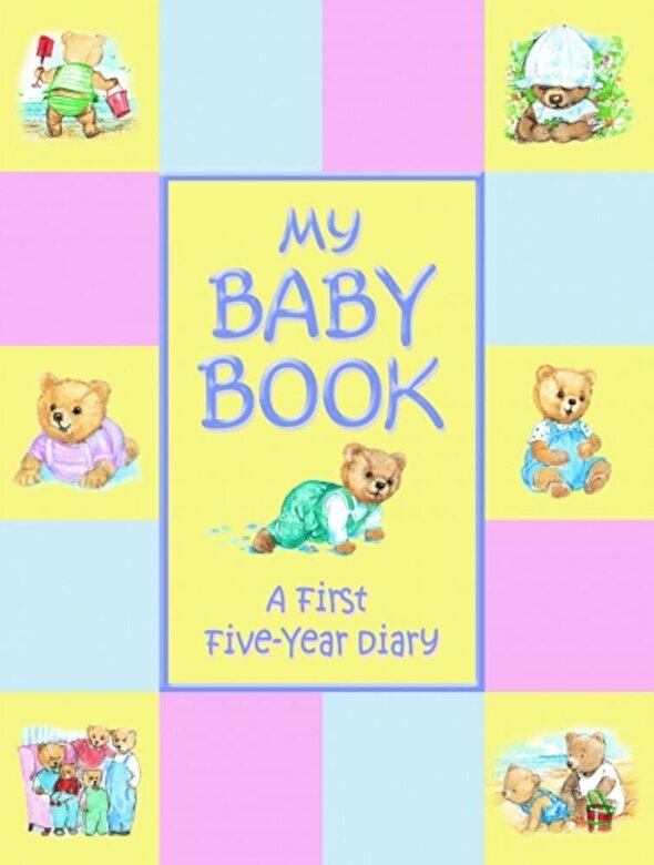 *** - My Baby Book - First Five Year Baby Record Book -