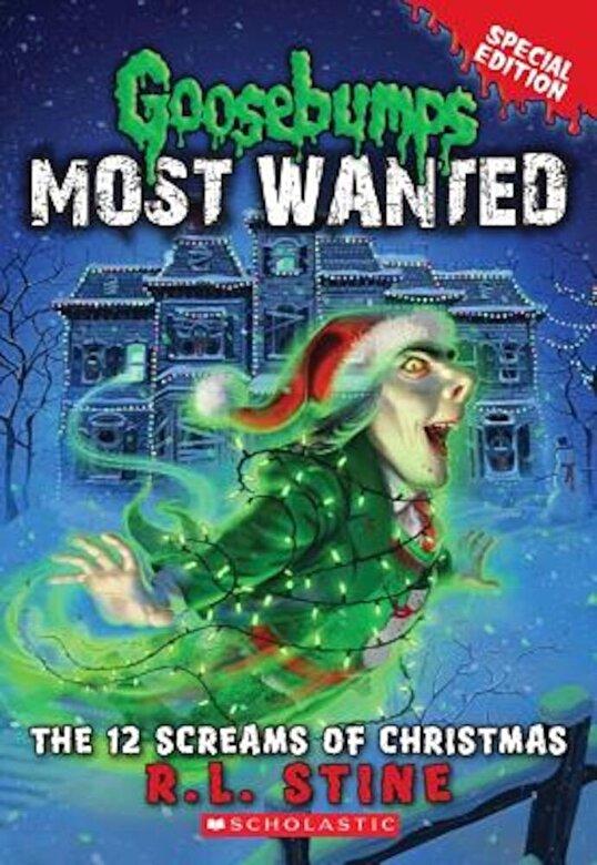 R. L. Stine - The 12 Screams of Christmas, Paperback -