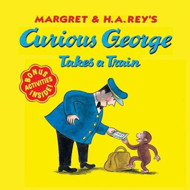 Margret Rey - Curious George Takes a Train, Paperback -