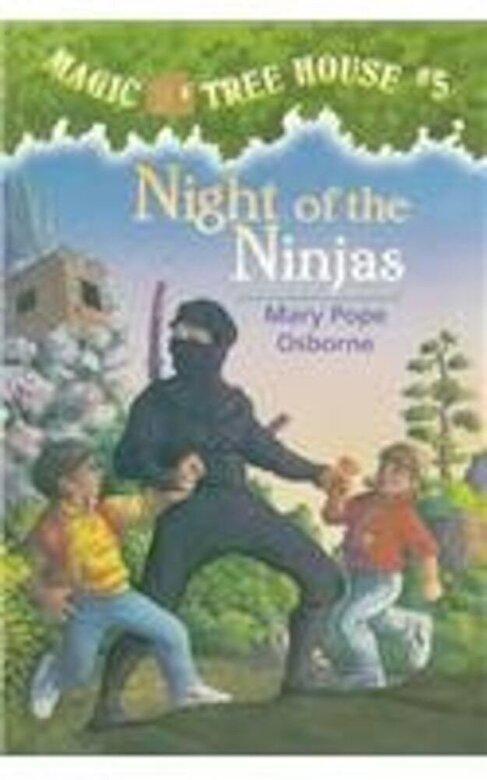 Mary Pope Osborne - Night of the Ninjas, Hardcover -