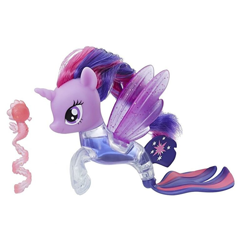 My Little Pony - My Little Pony, Figurina ponei de mare Flip & Flow Twilight Sparkle -