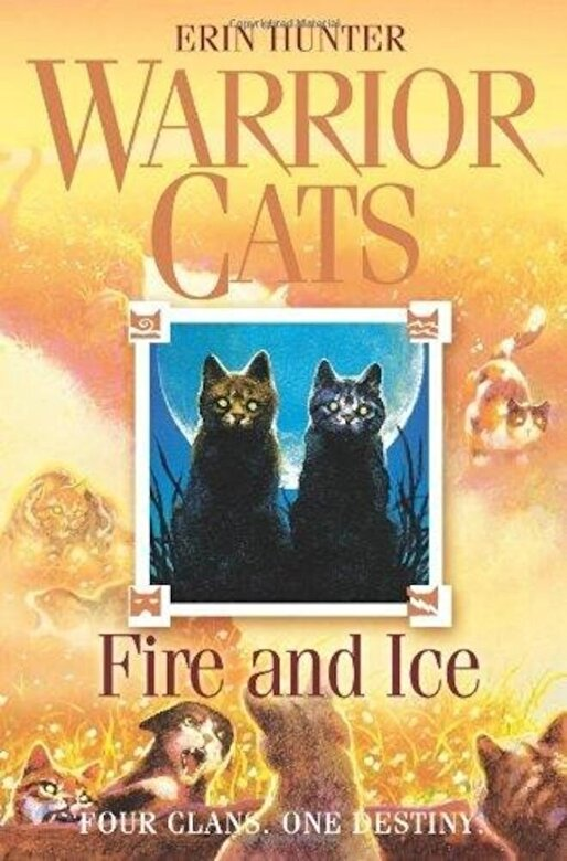 Erin Hunter - Fire and Ice (Warrior Cats) -