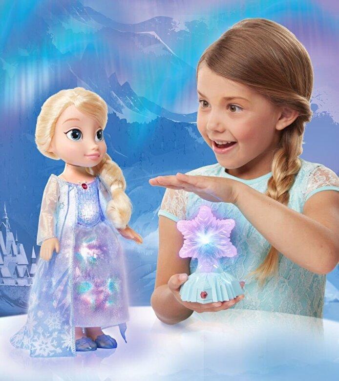 Jakks Pacific - Disney Frozen - Papusa Elsa, Luminile Nordului, 35 cm -