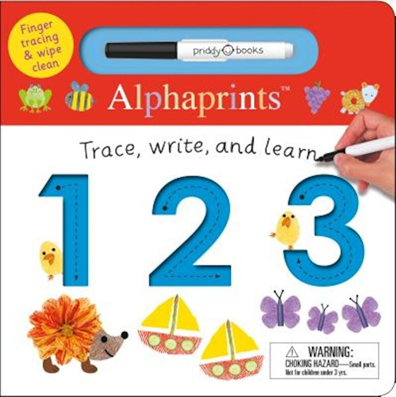 Roger Priddy - Alphaprints: Trace, Write, and Learn 123, Hardcover -