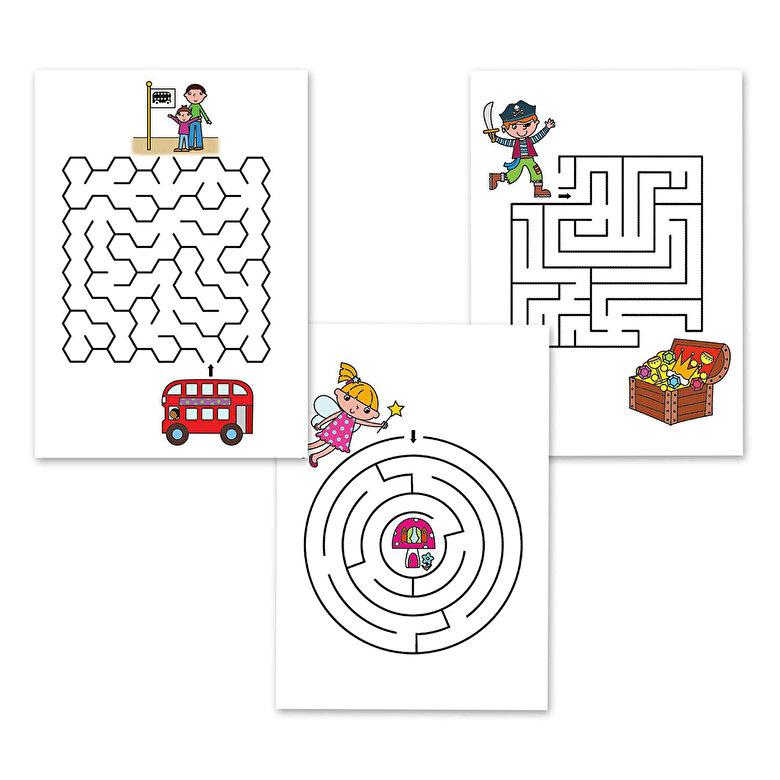 Galt - Carticica cu Activitati: Labirinturi Amuzante -