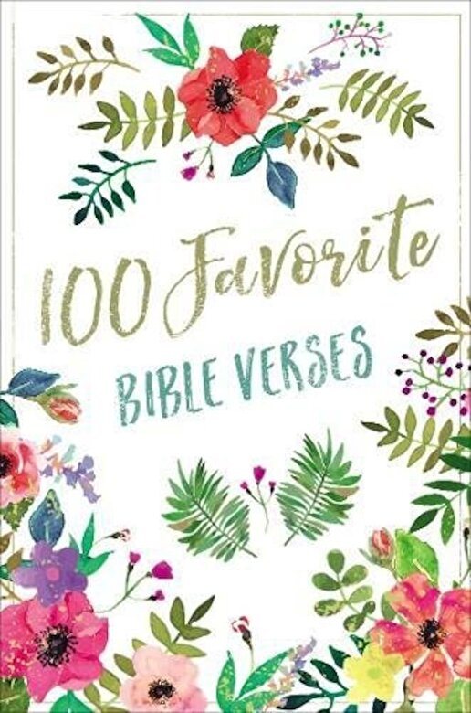 Thomas Nelson - 100 Favorite Bible Verses, Hardcover -