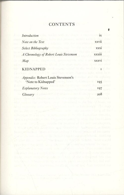 Robert Louis Stevenson - Kidnapped, Paperback -