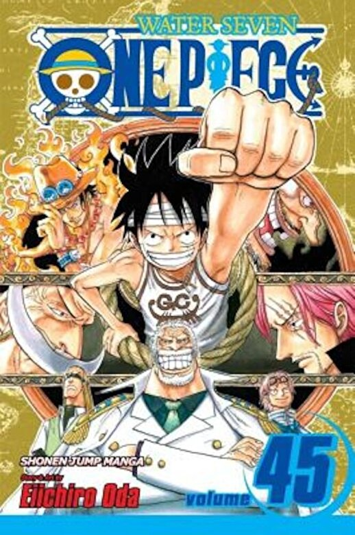 Eiichiro Oda - One Piece, Volume 45: Water Seven, Part 14, Paperback -