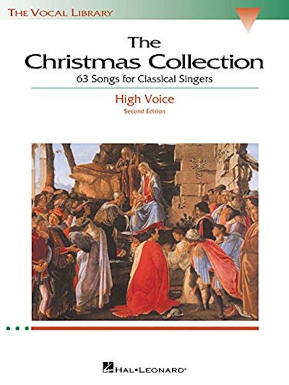 Hal Leonard Corp - The Christmas Collection: The Vocal Library High Voice, Paperback -