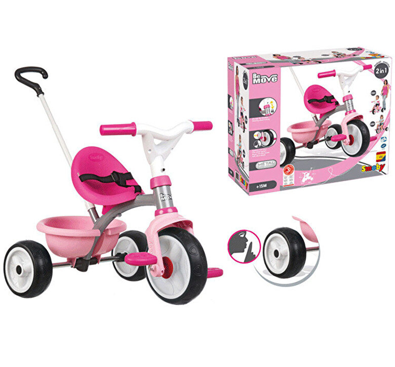 Smoby - Tricicleta Be Move Pink Smoby -