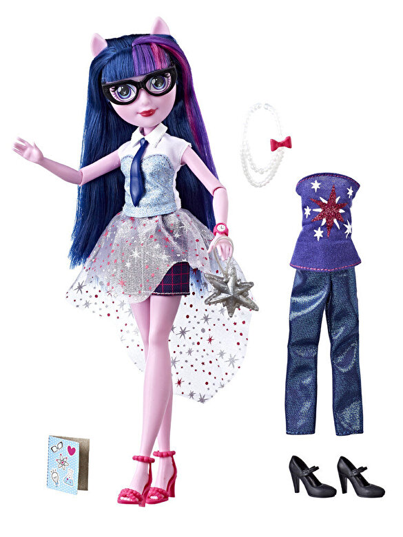 My Little Pony - My Little Pony Equestria Girls - Papusa in tinuta fashion Twilight Sparkle -