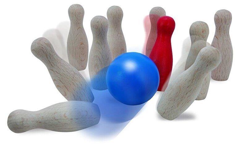 Eichhorn - Joc Bowling din lemn -