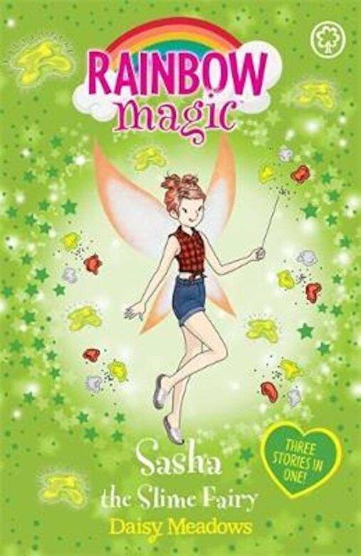 Daisy Meadows - Rainbow Magic: Sasha the Slime Fairy, Paperback -