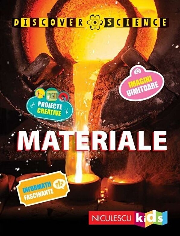 Clive Gifford - Materiale (Seria Discover Science) -