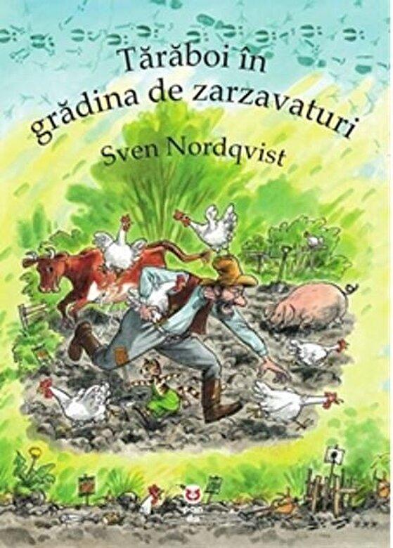 Sven Nordqvist - Taraboi in gradina de zarzavaturi -