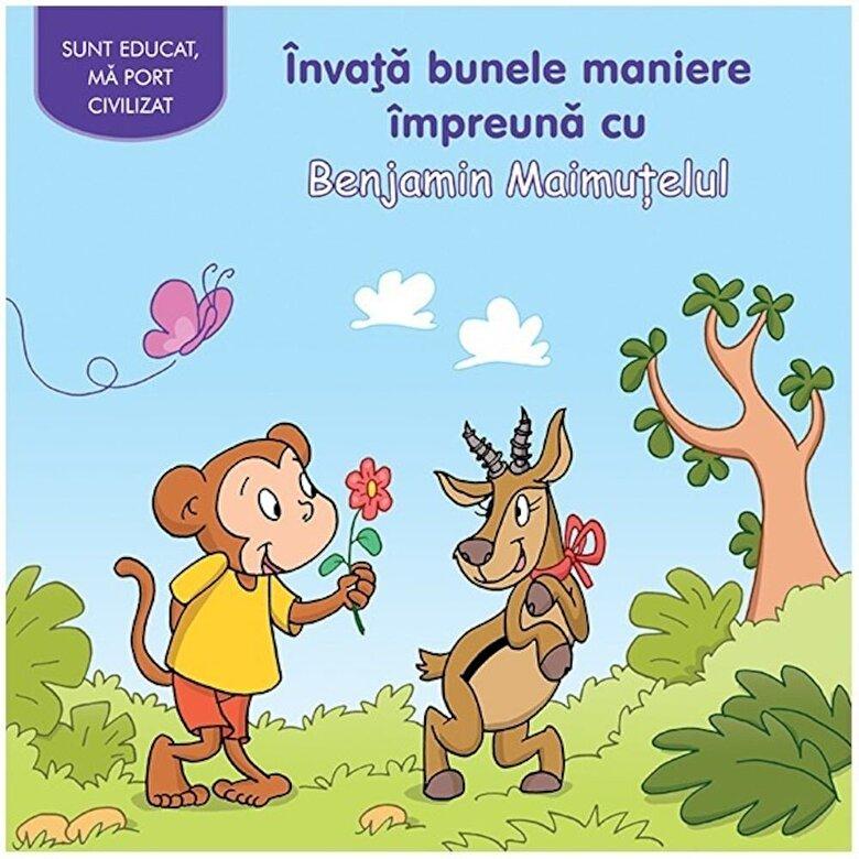 *** - Invata bunele maniere impreuna cu Benjamin Maimutelul -