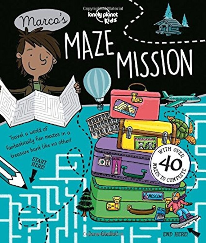 Lonely Planet - Marco's Maze Mission, Paperback -