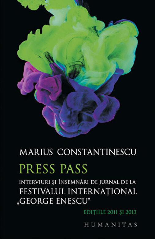 Marius Constantinescu - Press Pass -