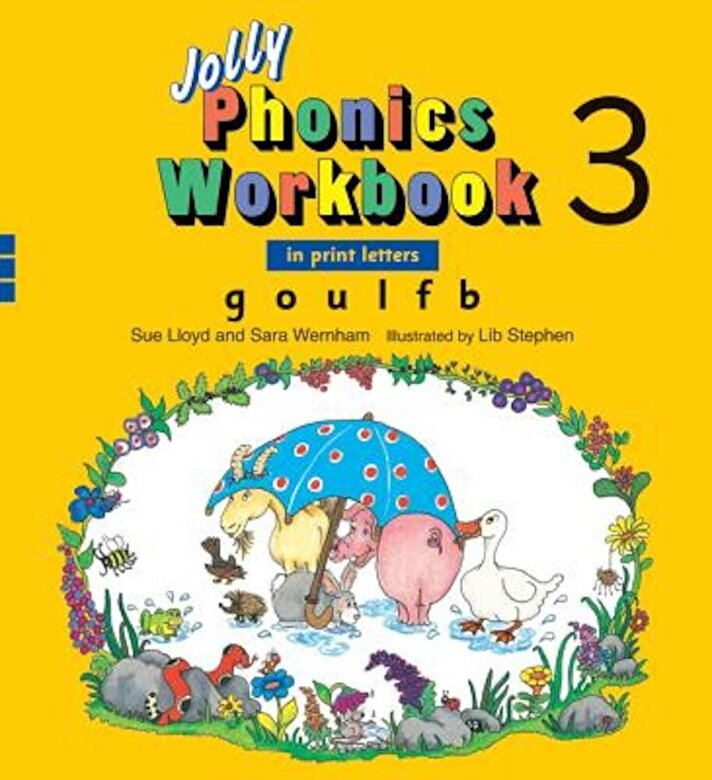 Sue Lloyd - Jolly Phonics Workbook 3, Paperback -