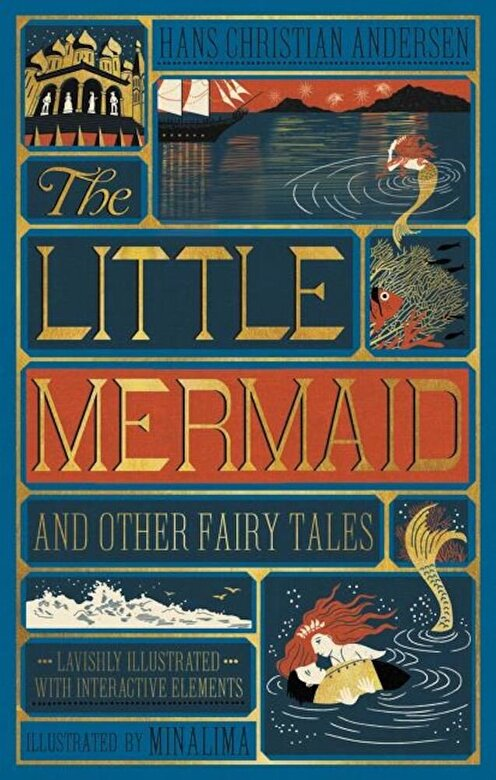 Hans Christian Andersen - Little Mermaid and Other Fairy Tales, the (Illustrated with Interactive Elements, Hardcover -