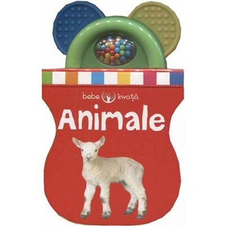 *** - Bebe invata. Animale (carte cu jucarie) -