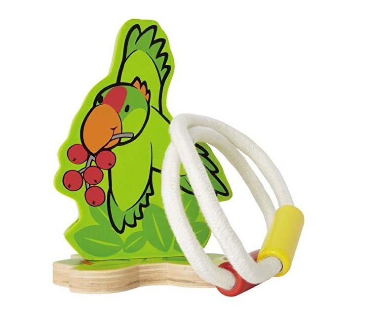 Hape - Joc indemanare - Papagalul Hoopla -