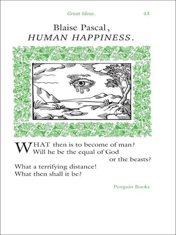 Blaise Pascal - Human Happiness -