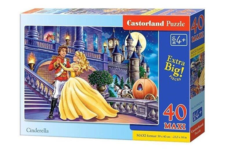 Castorland - Puzzle maxi Cenusareasa, 40 piese -