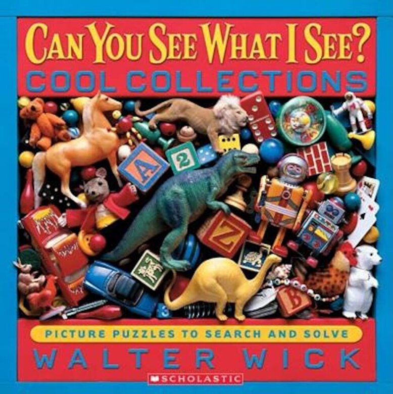 Walter Wick - Cool Collections: Picture Puzzles to Search and Solve, Hardcover -