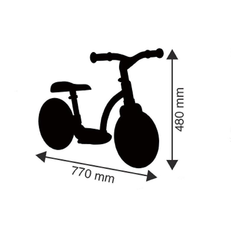 Smoby - Bicicleta echilibru Confort fara pedale, roz -