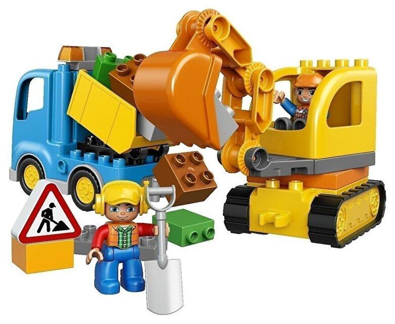 LEGO - LEGO DUPLO, Camion si excavator pe senile 10812 -
