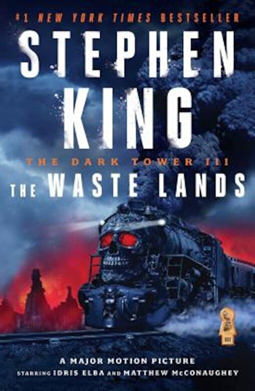 Stephen King - The Dark Tower III: The Waste Lands, Paperback -