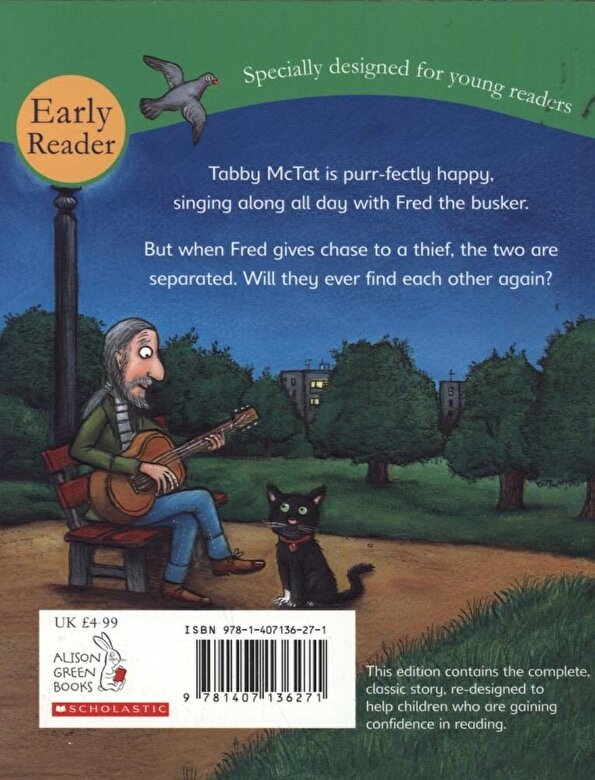 Julia Donaldson - Tabby McTat (Early Reader), Paperback -