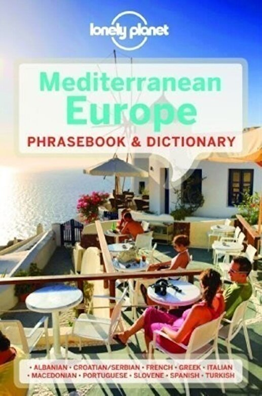 Lonely Planet - Lonely Planet Mediterranean Europe Phrasebook & Dictionary -