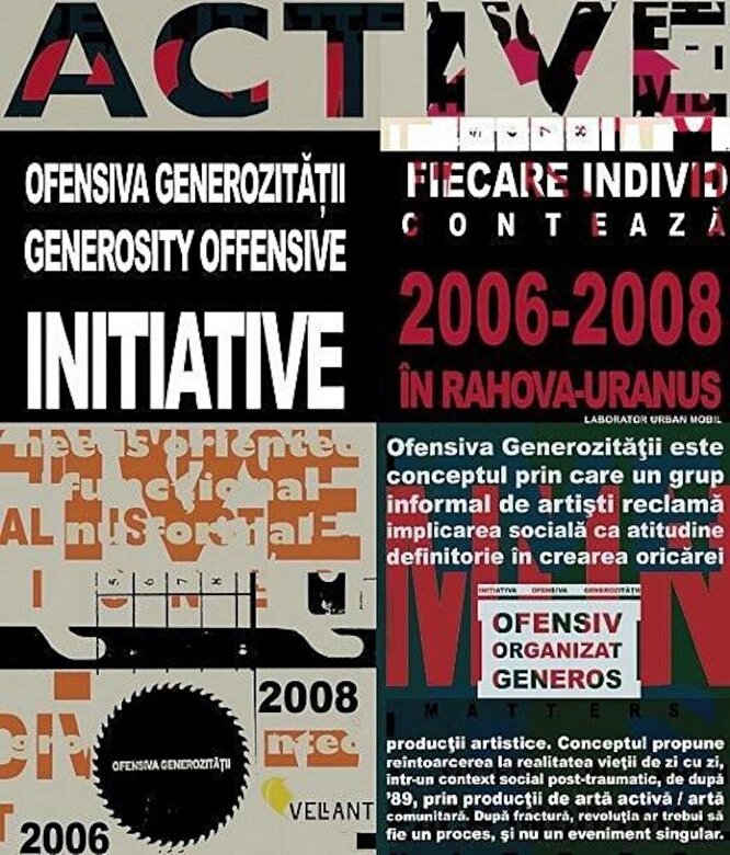 Maria Draghici - Ofensiva Generozitatii 2006-2008 -