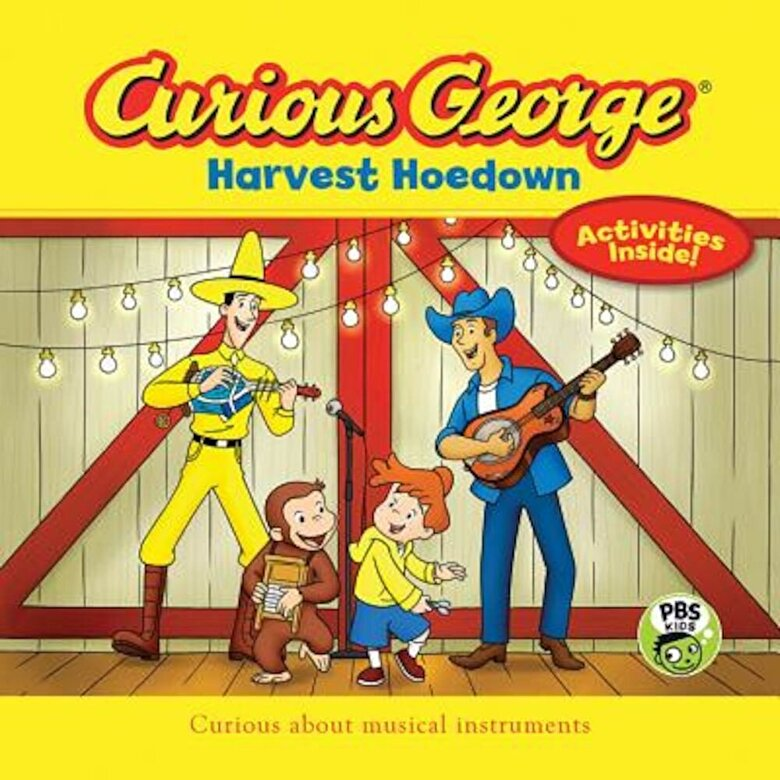 Gina Gold - Curious George Harvest Hoedown (Cgtv 8 X 8), Paperback -