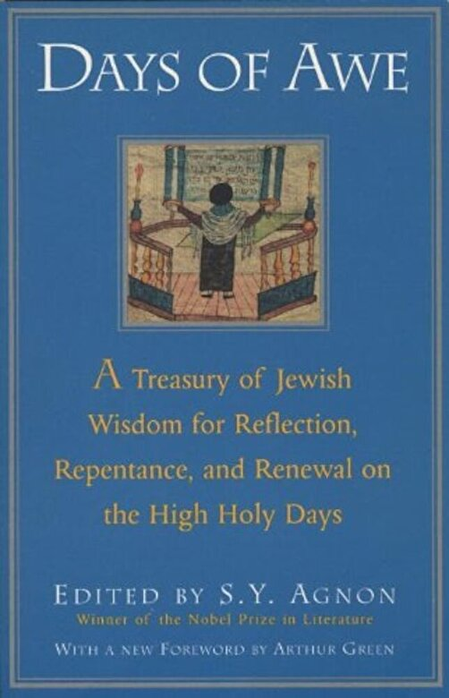 Shmuel Yosef Agnon - Days of Awe: A Treasury of Jewish Wisdom for Reflection, Repentance, and Renewal on the High Holy Days, Paperback -