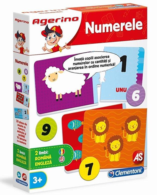 Clementoni - Agerino - Joc educativ Numerele -