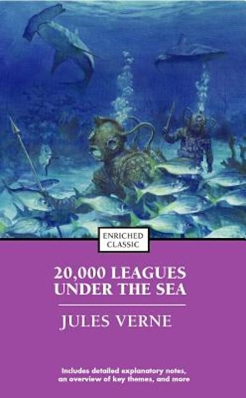 Jules Verne - 20,000 Leagues Under the Sea, Paperback -