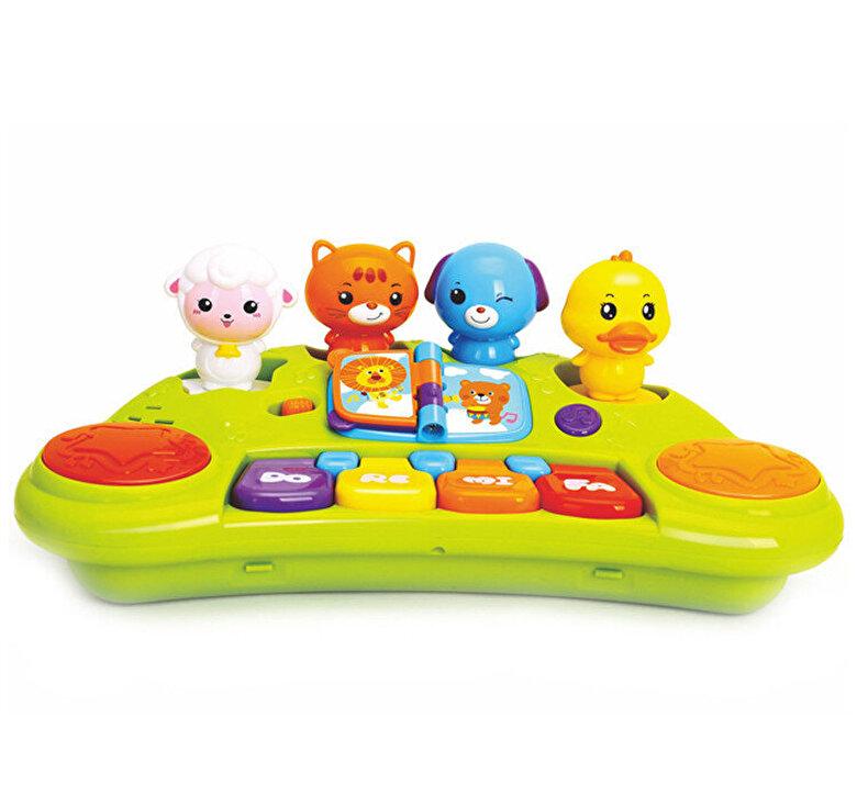 Hola Toys - Jucarie orga muzicala a animalutelor Hola Toys -