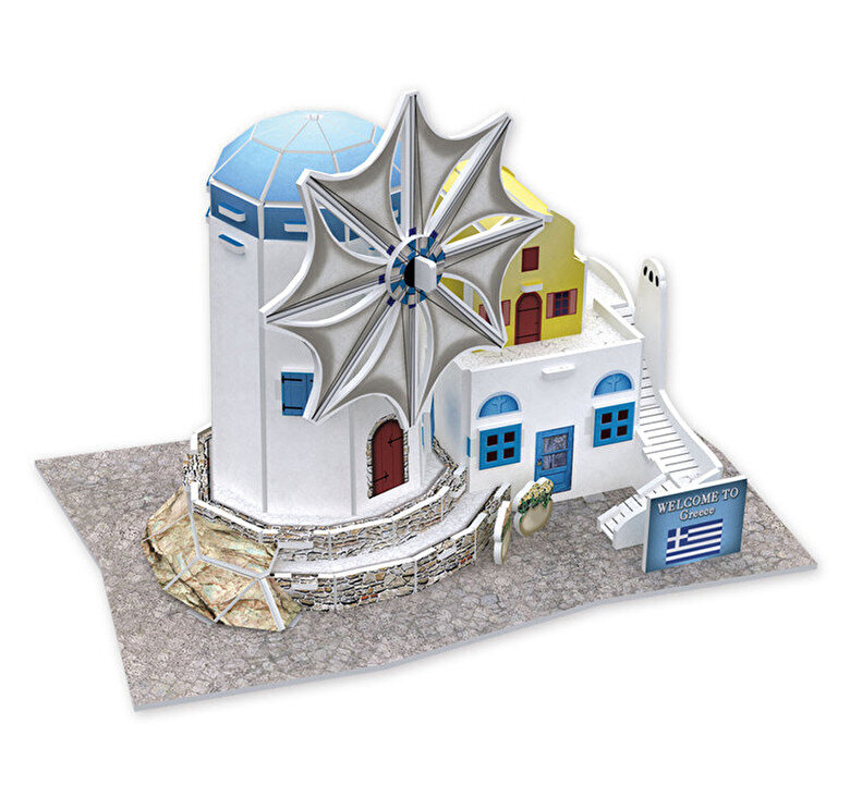 CubicFun - Puzzle 3D Windmill, 31 piese -