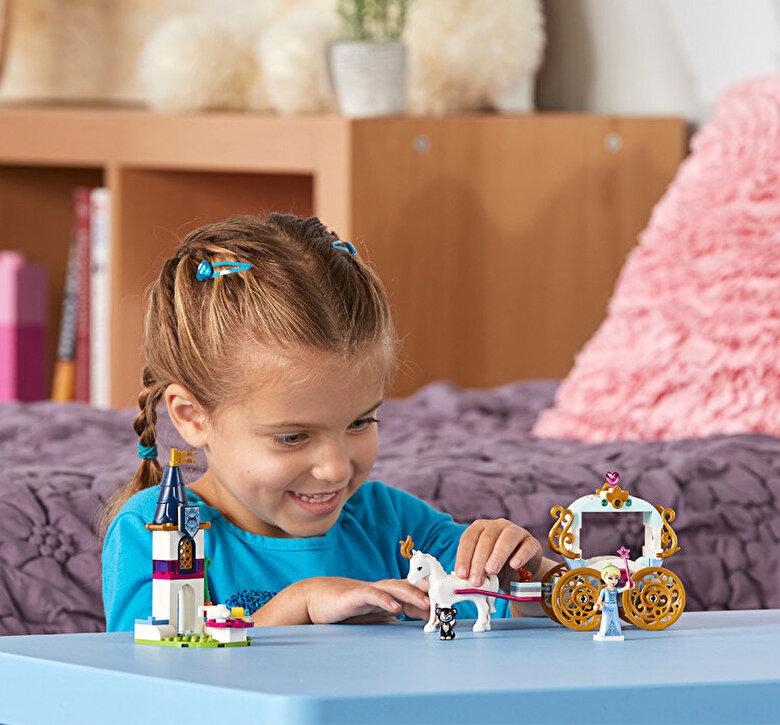 LEGO - LEGO Disney Princess, Calatoria Cenusaresei cu trasura 41159 -