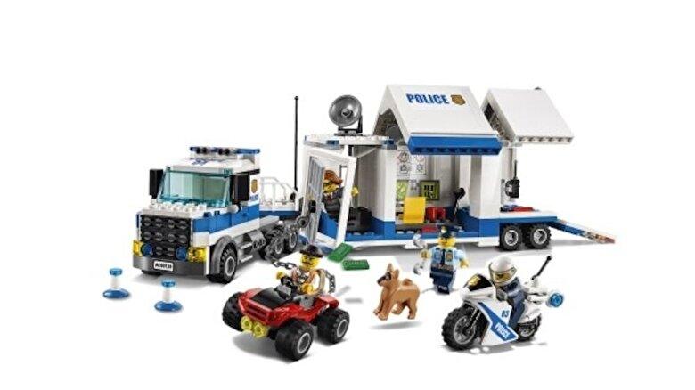 LEGO - LEGO City, Centru de comanda mobil 60139 -