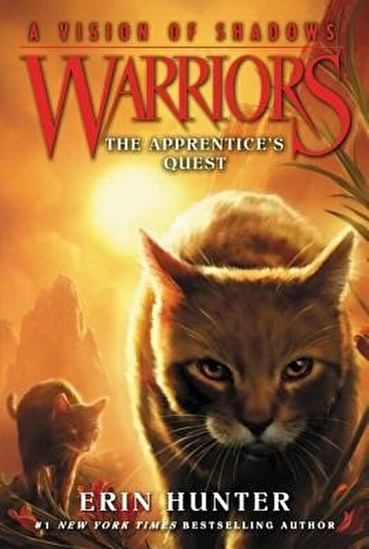 Erin Hunter - Warriors: A Vision of Shadows #1: The Apprentice's Quest, Paperback -