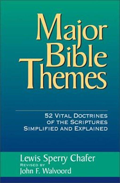 John F. Walvoord - Major Bible Themes, Hardcover -