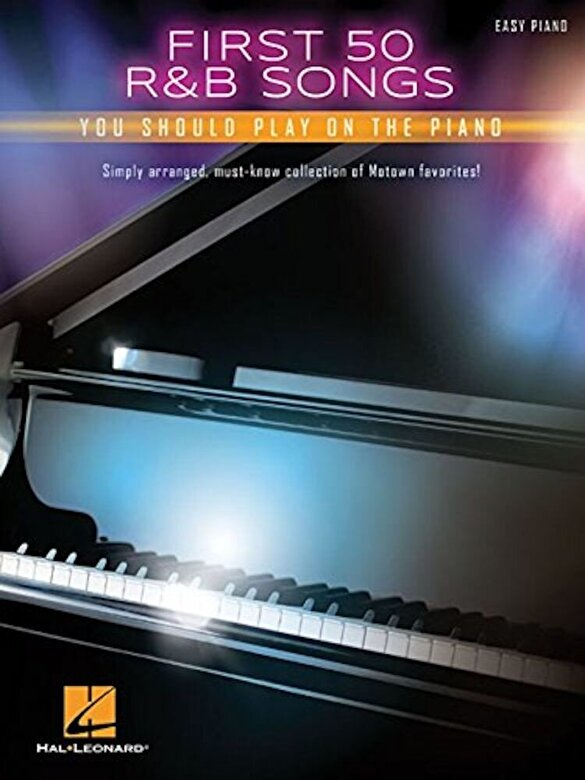 Hal Leonard Corp - First 50 R&B Songs You Should Play on Piano, Paperback -